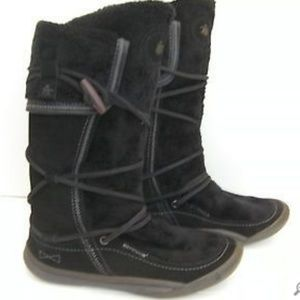 Cushe Navajo Tall Suede & Faux Fur Winter Boots 7